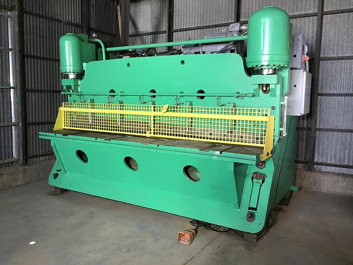 """Used Pacific Hydraulic Shear 1/2"""" x 120"""""""