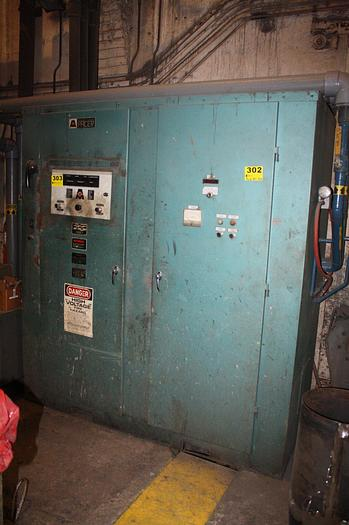 1991 AJAX MAGNETHERMIC 500KW 1KHZ PACER-I  INDUCTION POWER SUPPLY.