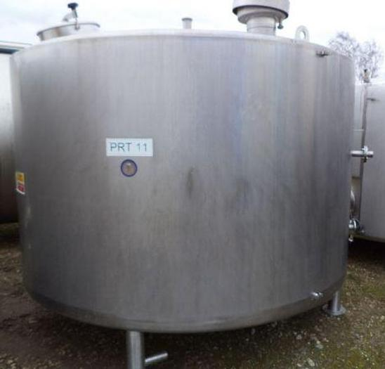 Used 10,500ltr Stainless Steel Jacketed & Insulated Tank