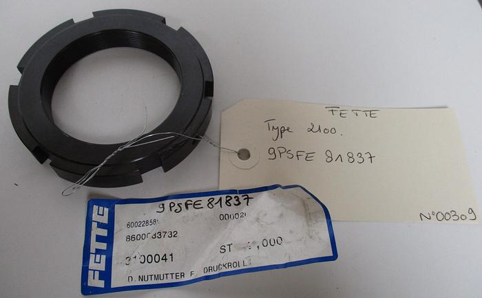 Used FETTE 2100 9PSFE 81837