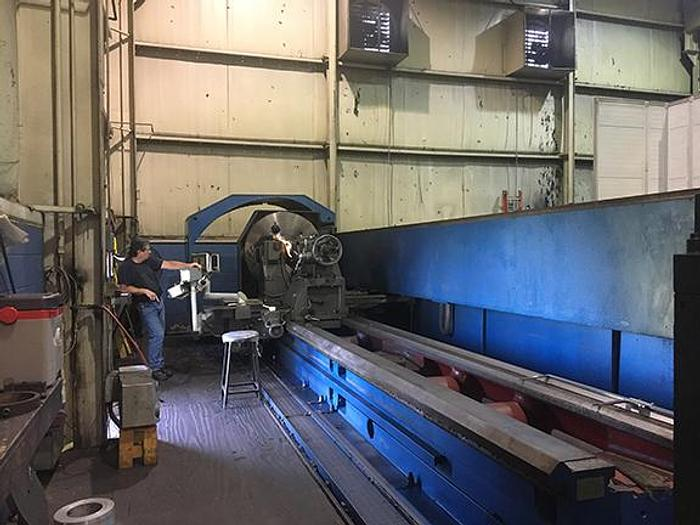 Used 2006 RYAZAN MODEL RT317RF3-6 LARGE CAPACITY CNC LATHE