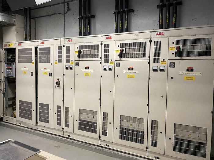 Used ABB DRIVE SECTION