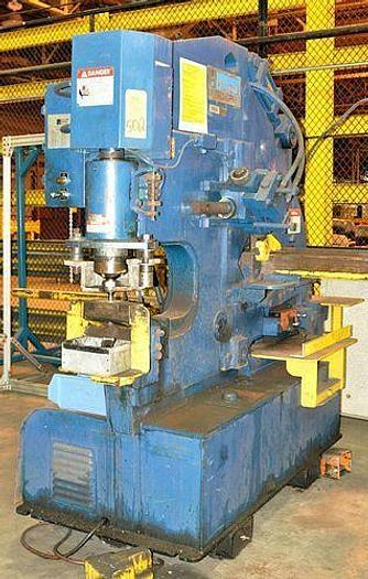 Used 1986 HILL ACME 4A  70 TON UNIVERSAL HYDRAULIC IRONWORKER