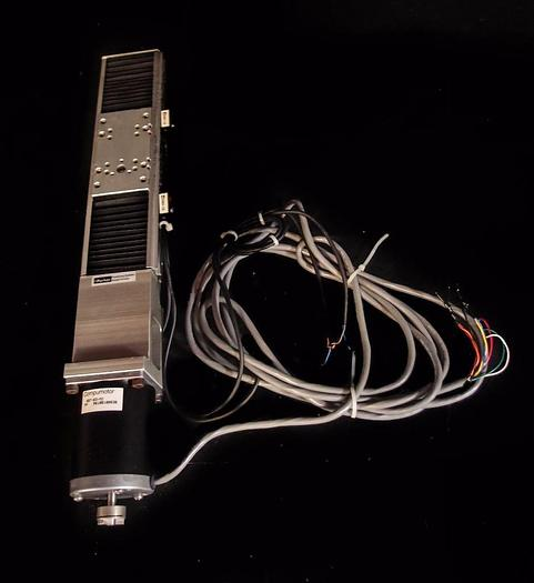 Used Parker Positioning Systems 5113B833 Linear Actuator & Elcom DC Servo Motor (3595
