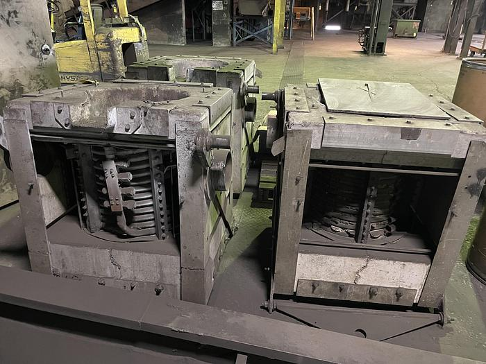 Used INDUCTOTHERM  500 LBFURNACE BOX