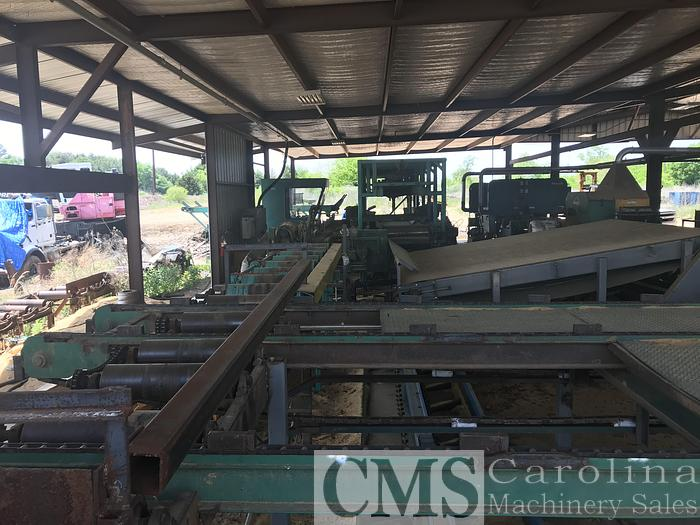 Used Complete Sawmill Helle, Brewco, Morbark