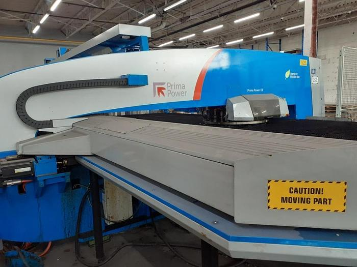 2012 33 Ton Prima Power E6 Servo Driven CNC Turret Punch