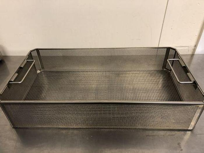 Used Aesculap Tray Sterilisation Stainless Steel 490 x 255 x 95mm GB246