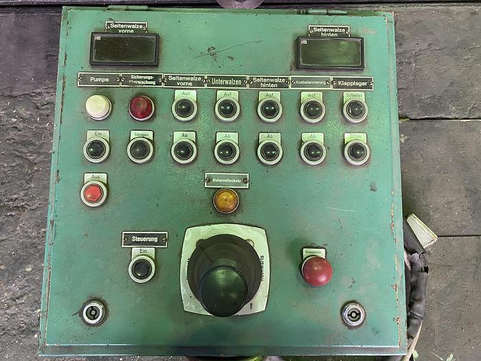 Walzen - Biegemaschine SCHÄFER SVRM