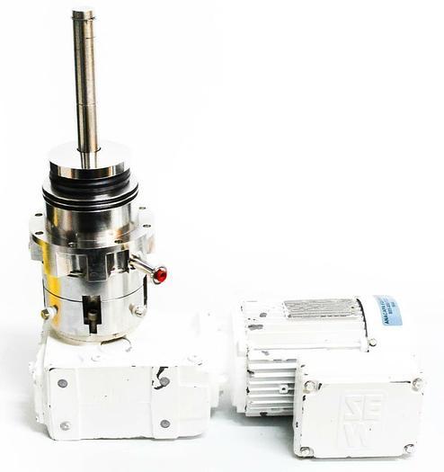 Used FlowServe GVC415528XB-Q1 Sew EuroDrive DFT80N4TH 1 Hp Laboratory Mixer (5646)