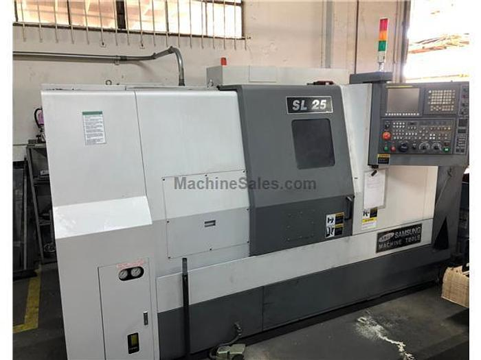 Samsung SL-25B/500 CNC Turning Center