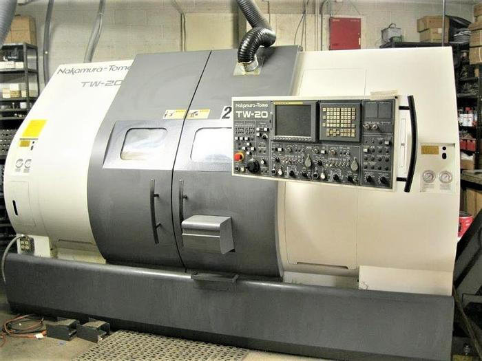 Used 2010 Nakamura Tome TW-20MM