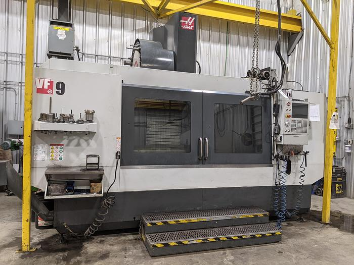 "Used 84""X, 40""Y, 30""Z, HAAS, VF-9, 2018, CNC VERTICALMACHINING CENTER"