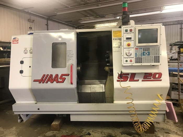 HAAS SL20T 2 AXIS CNC LATHE NEW 1999