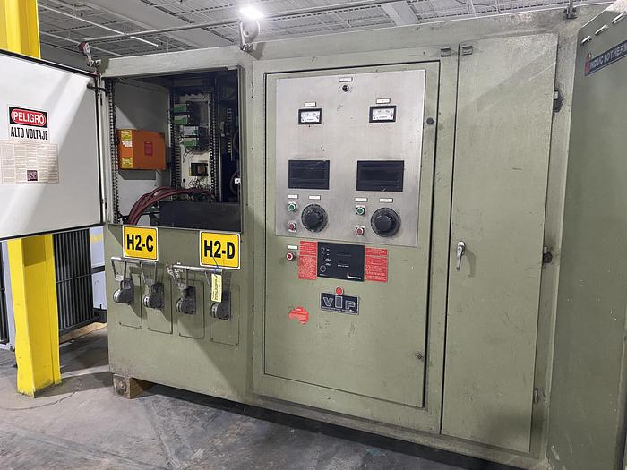 2006 INDUCTOTHERM 1250 KW DUAL TRAK POWER SUPPLY WITH TRANSFORMER