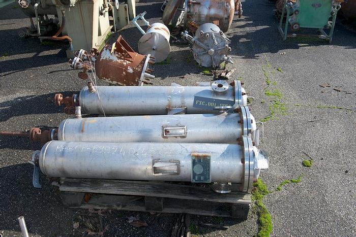 Usata Filtro aria-gas, 0,04 m2, in AISI304