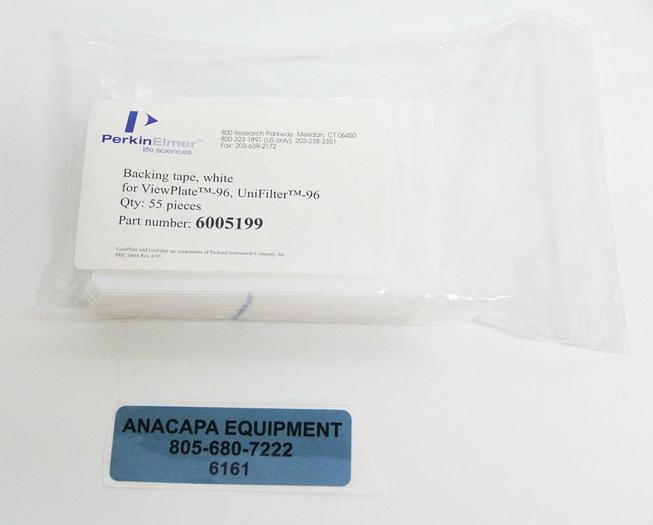 Perkin Elmer 6005199 Backing Tape QTY 55 For Viewplate-96 UniFilter-96 (6161)