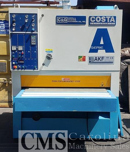 Used 2005 Costa Wide Belt Sander