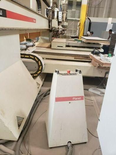 MORBIDELLI PLANET ST-SUPER-HP CNC, DRILLING, ROUTING, EDGEBANDING MACHINE