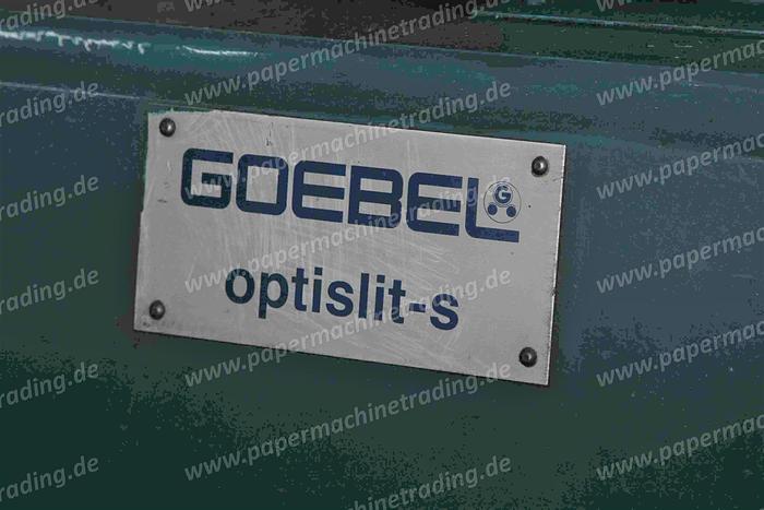Gebraucht (FRW-169) - Slitter Rewinder Goebel Optislit 3200 mm