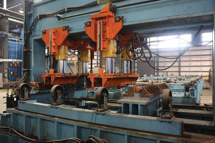 320 Ton Easom / Enerpac  Hyd. Straightening / Dishing / Panel Press