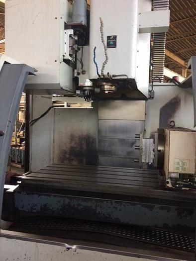 2001 BRUTE VMC 63/35/35 VMC, 50 Taper,8K RPM, with 4th axis Rotary Table
