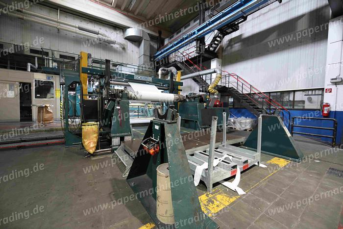 Gebraucht Ashe(FRW-171) - Slitter Rewinder Goebel Optislit 3250 mm