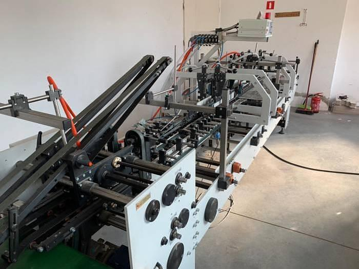 Used Versor SK 60k3 folder gluer in perfect condition (2007)