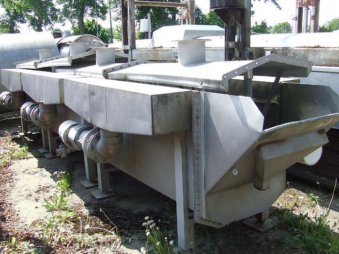 Używane Oparzelnik wodny z pompami natrysku-nierdzewny