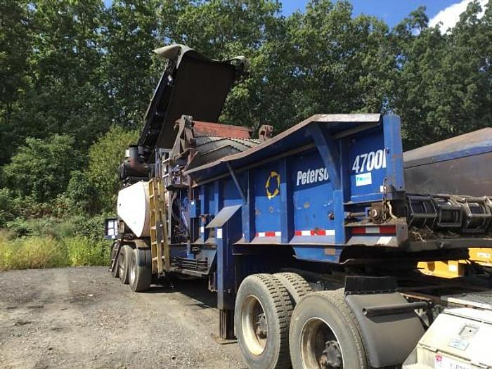 Used 2006 Peterson Pacific 4700B Horizontal Grinder
