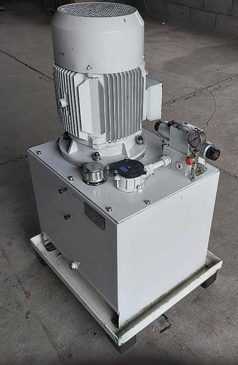Gebraucht Hydraulikaggregat, 50l/min, 100L, 130 bar, 11 KW, Eurofluid,  gebraucht-Top