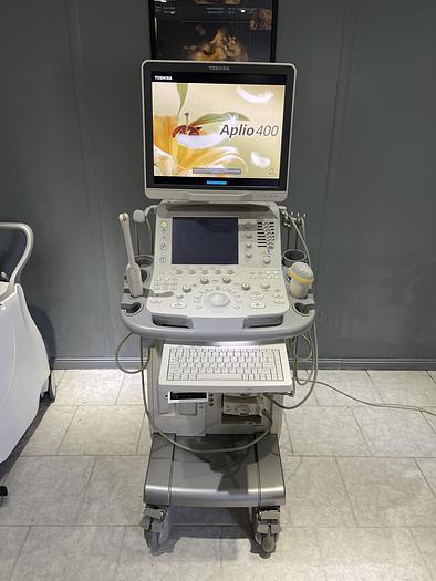 Used Ultraschallgerät Aplio 400 mit 3x Sonden und Printer