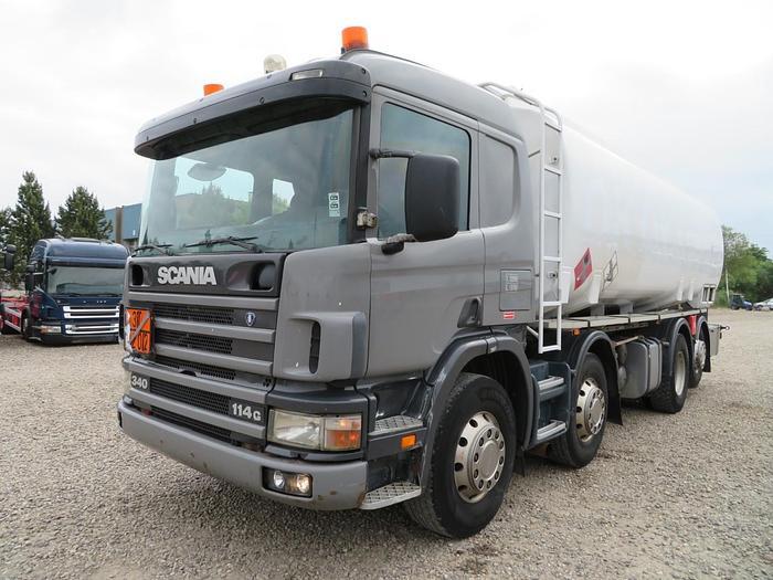 God Scania 114 340 8x2*6 24000 L ADR