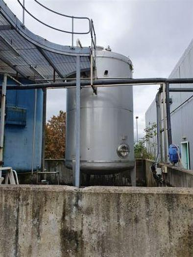 Used 25,000 Litre 316 Stainless Steel Storage Tank