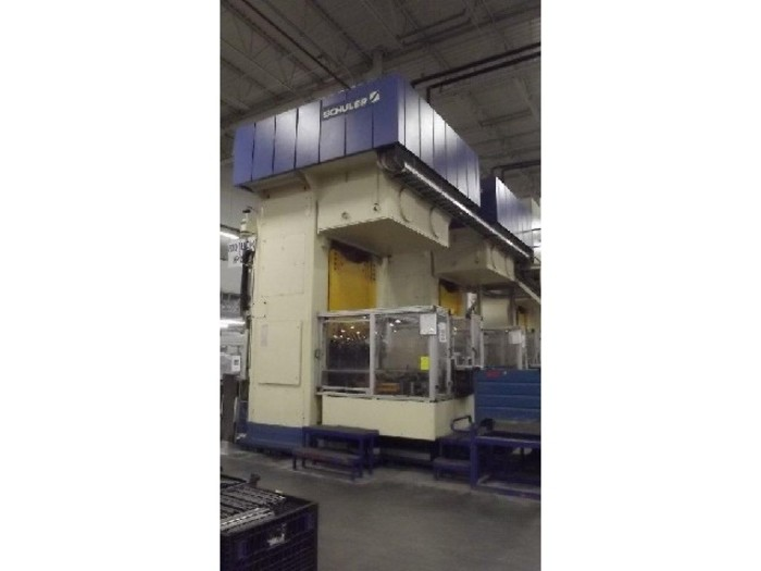 500 ton Schuler Hydraulic Press