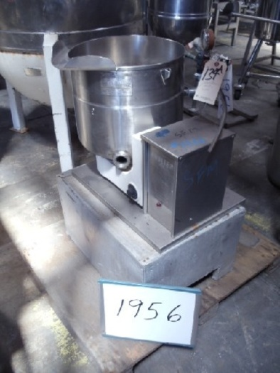 ETT 40 QT. Coulter Jacketed Lab Kettle #1956