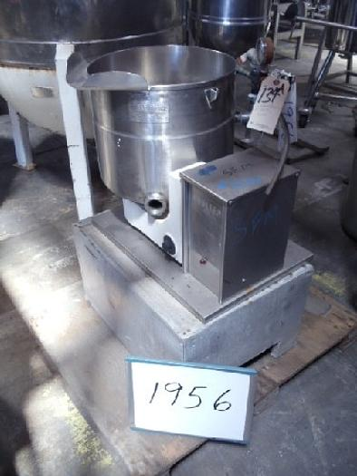 ETT 40 QT. Coulter Jacketed Lab Kettle