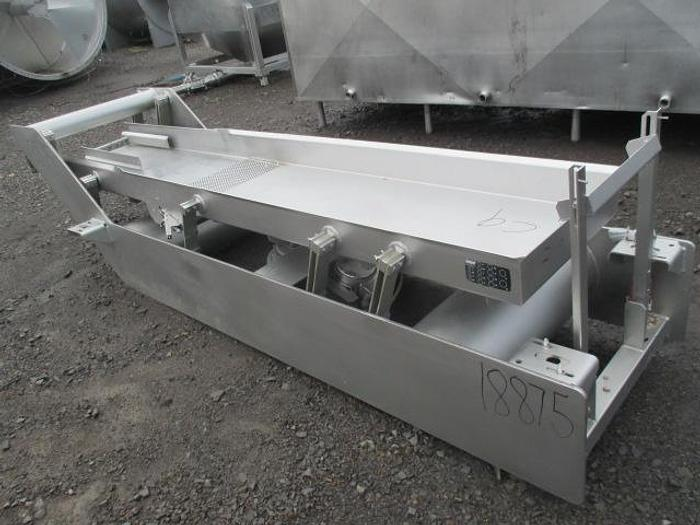 Used Key Technology Vibratory Conveyor; Md#434597.1