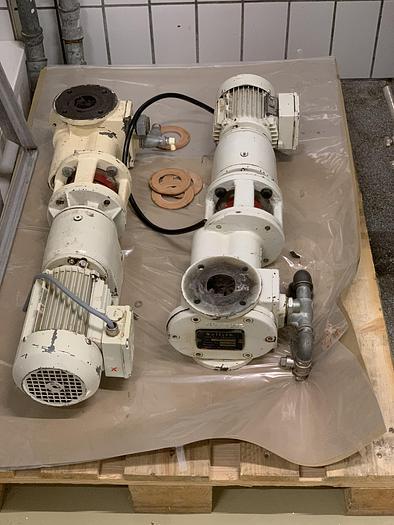Gebraucht gebr. Massepumpe SOLLICH Type STP-500 mit ca. 500 kg Stundenleistung.