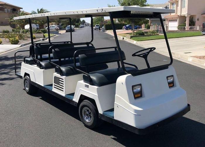Used 1997 EZ-GO Cushman Golf Cart - 8 Passenger