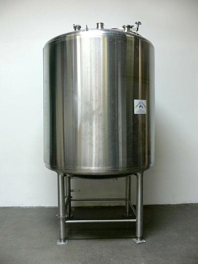 Used Feldmeier 600 Gallon Stainless Steel Insulated Holding Tank w/ Center Drain