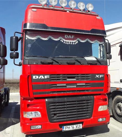 2005 DAF 95 xf 430 euro 3 manual