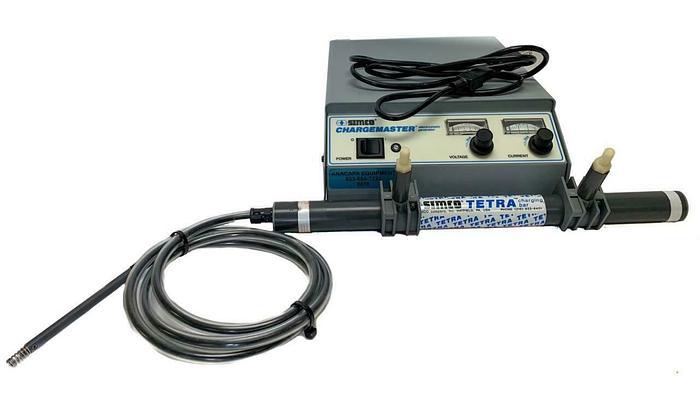 Used Simco CH50-N Electrostatic Generator Chargemaster & Tetra Charging Bar (6678)W