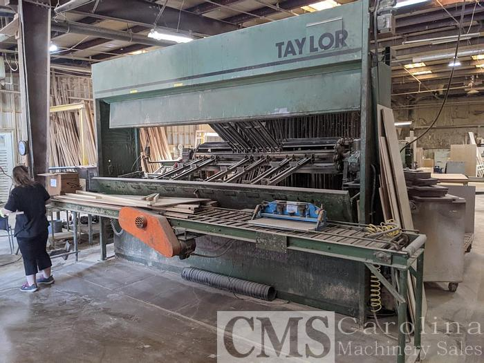 Used Taylor 59 Section Clamp Carrier