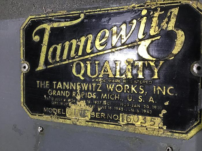 "Used 36"" Tannewitz Model G1NE Band Saw SN.16035"