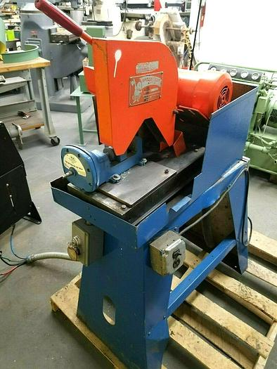 """Used Speed Cut 10"""" Abrasive Cut Off Chop Saw Machine with Pneumatic Vise Ships Free"""