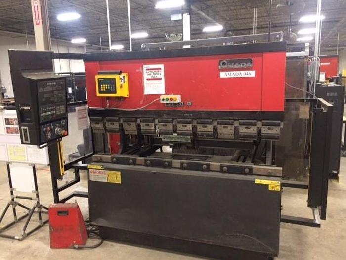 Used 55 TON AMADA CNC PRESS BRAKE