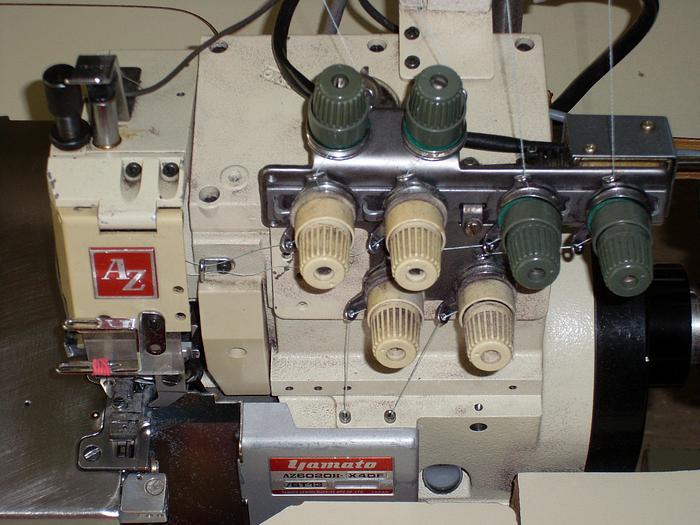 Gebraucht Overlockmaschine  YAMATO   AZ/6020-X4Df/BT13