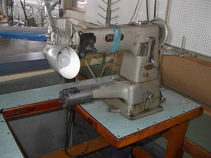 Gebraucht 2-Nadel Steppstich für Mützen PFAFF  Kl. 341-6BS Freiarm 2 Nd.