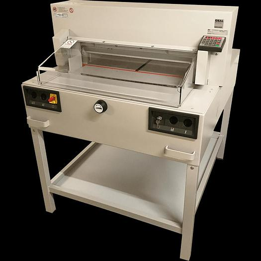 Used Pre-Owned IDEAL 6550-95EP 9-Program Guillotine
